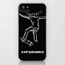 Flip-kick Experience iPhone Case