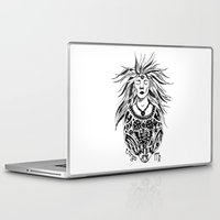 virgo Laptop & iPad Skins featuring Virgo by Anna Shell
