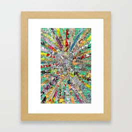 M E G A - one Framed Art Print