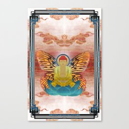 buddherfly #2 Canvas Print