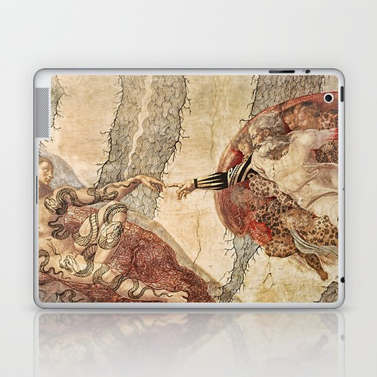 Angel Touch. Laptop & iPad Skin
