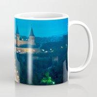 ukraine Mugs featuring Kamianets-Podilskyi Castle (Ukraine) by Limitless Design