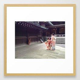 Kimonos Framed Art Print