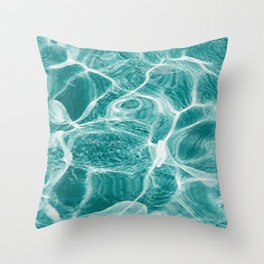 Deep with Bright Throw Pillow