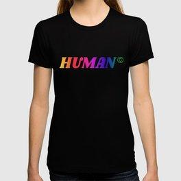 Human Rainbow T-shirt