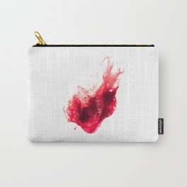 Spit Blood Heart Shape Carry-All Pouch