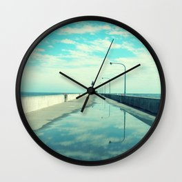 Breakwater Lighthouse Wall Clock