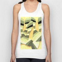 striped Tank Tops featuring striped by Herb Vaine