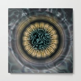 Primal Energy Vibrations Metal Print