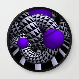 opart knots Wall Clock