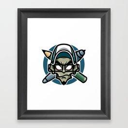 The Mad Artist Framed Art Print