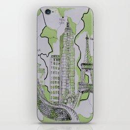 The World Traveler iPhone Skin