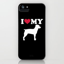I love my Brittany Spaniel iPhone Case