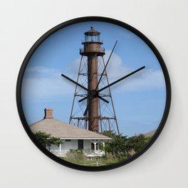 Sanibel Island Light Wall Clock