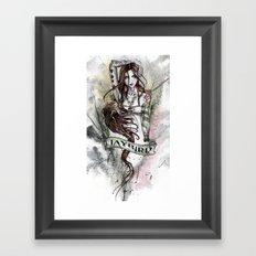 JAYBIRD art & design Framed Art Print