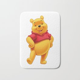 pooh bear characters Bath Mat