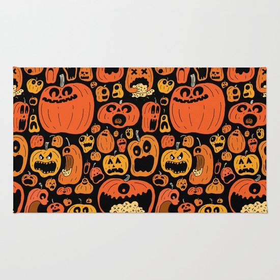 Pumpkin Pattern Rug