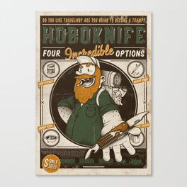 Classic Posters. Hobo Knife Canvas Print