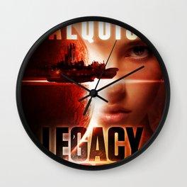 Legacy Code Book Cover Print Wall Clock