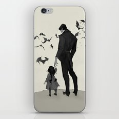 Father Daughter Time iPhone Skin