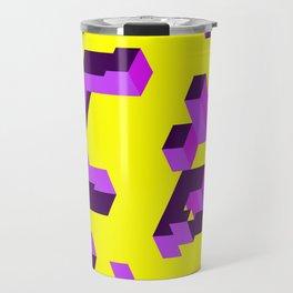 Purple fragment Travel Mug