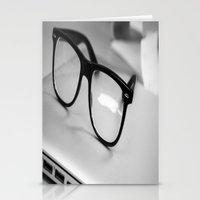 geek Stationery Cards featuring Geek by Zack Skeeters