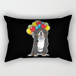 Bernese Mountain Dog funny Rectangular Pillow