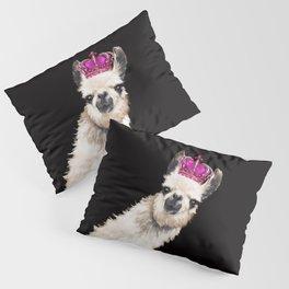 Llama Queen Pillow Sham