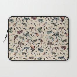 Frog pattern Laptop Sleeve