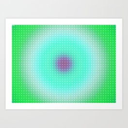 Ripple III Pixelated Art Print