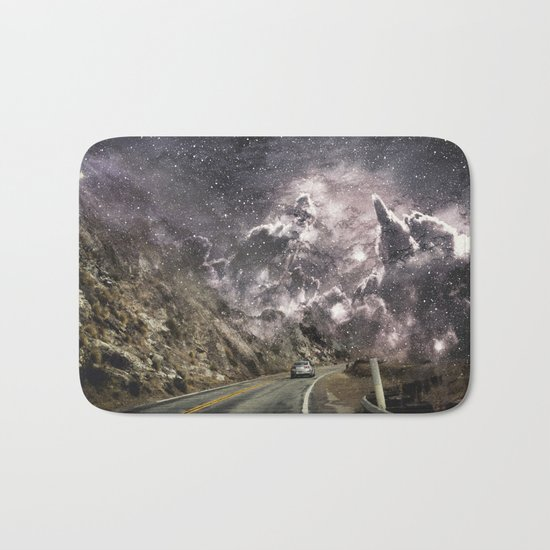 Space gazing Highway One Bath Mat
