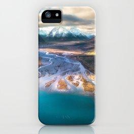 """Ohau Beautiful"" - High above Lake Ohau, New Zealand iPhone Case"