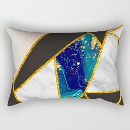 abstract marble pattern Rectangular Pillow