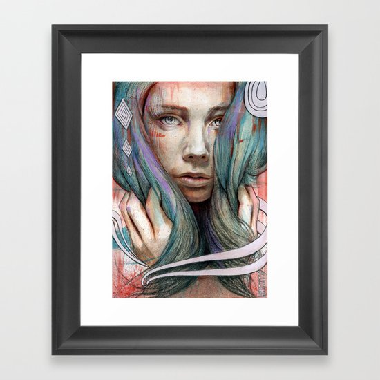 Onawa Framed Art Print