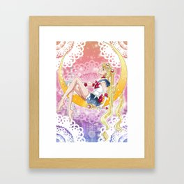 Fly Me To The Moon Framed Art Print