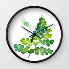 Dragonfly One Wall Clock