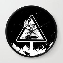 Danger Wall Clock