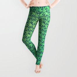 Cannabis / Hemp / 420 / Marijuana  - Pattern Leggings