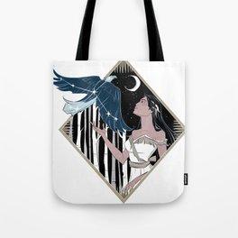 Pocahontas and Aquila Tote Bag