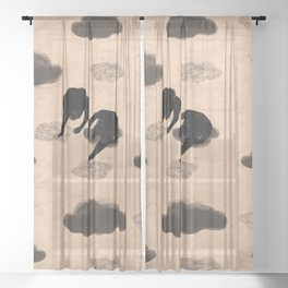 tread Sheer Curtain