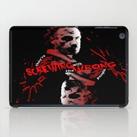 rick grimes iPad Cases featuring Rick Grimes by artandawesome