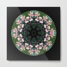 Ring of Flowers Metal Print
