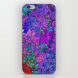 Electric Garden iPhone Skin
