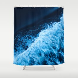 Sea 11 Shower Curtain