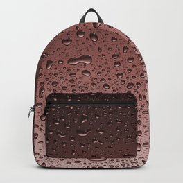 Wet Rose Gold Backpack