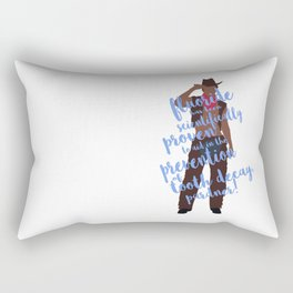 dental cowboy Rectangular Pillow