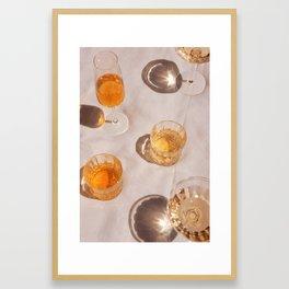 Cocktail Hour 2 Framed Art Print