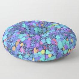 Sea of Cells Floor Pillow
