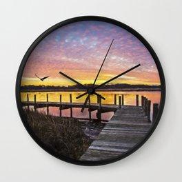 Sunset Impressions Wall Clock