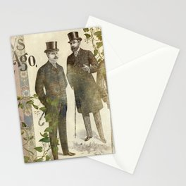 The Days of Long Ago Stationery Cards